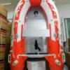 Φουσκωτό σκάφος Sail 270 μέτρα A270 με πάτωμα αλουμινίου