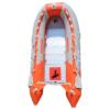 Φουσκωτό Sail A430 4.30 μέτρα με πάτωμα αλουμινίου πορτοκαλί γκρι χρωματος