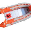 Φουσκωτό Sail A430 4.30 μέτρα με πάτωμα αλουμινίου πορτοκαλί χρώματος