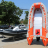 Φουσκωτό Sail A430 4.30 μέτρα με πάτωμα αλουμινίου χρώμα πορτοκαλί